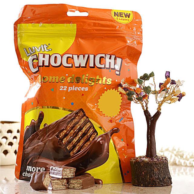 Colourful Wish Tree Luvit Chocwich Minis:Luvit Chocolates