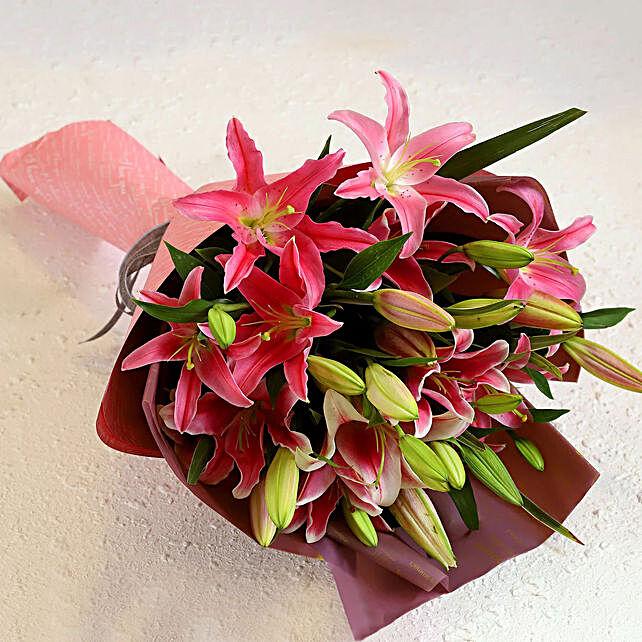 Best Wishes Flower Bouquet Online