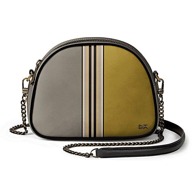 Online Olive & Mustard- Arch Crossbody Bag