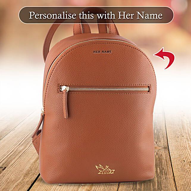 online personalised backpack