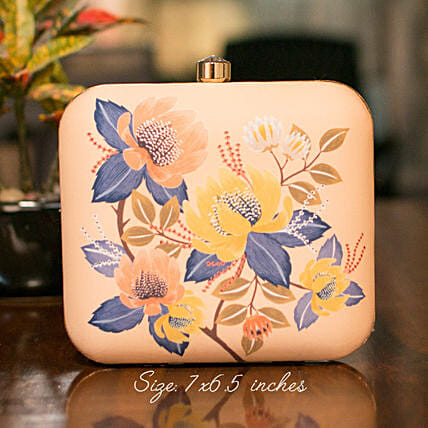 Customised Embroidery Clutch Bag
