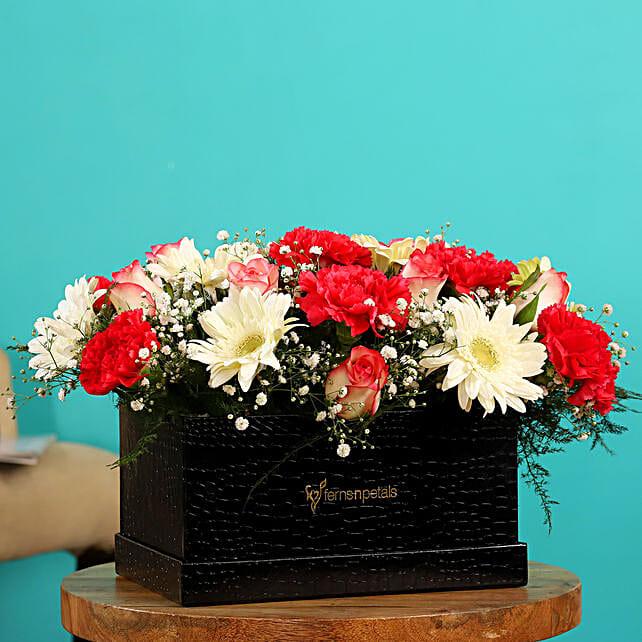 Online  Mixed Flowers Arrangement