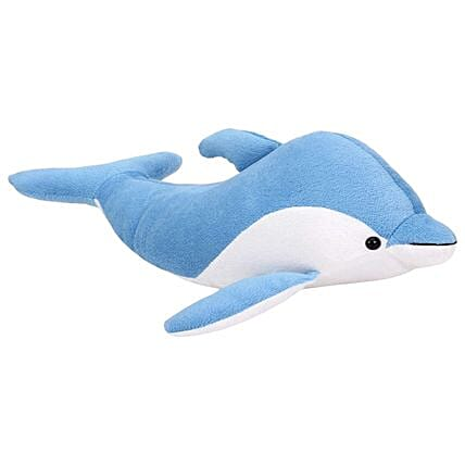 Online Blue Dolphin Soft Toy
