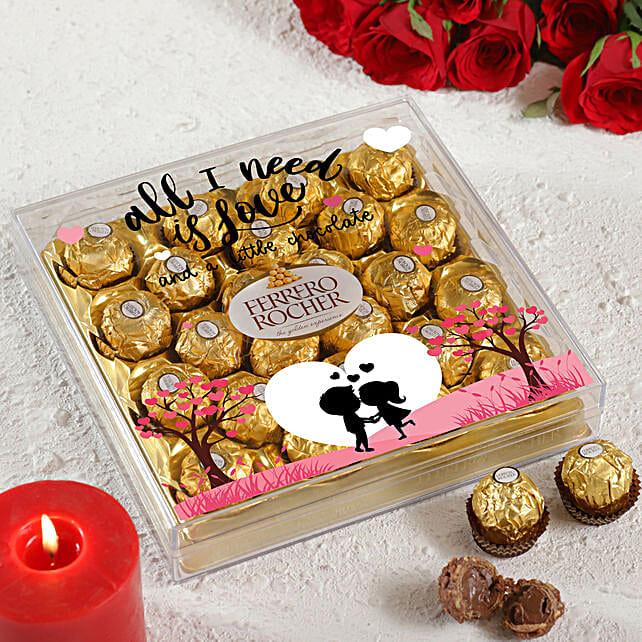 All I Need Is Love Ferrero Rocher Box