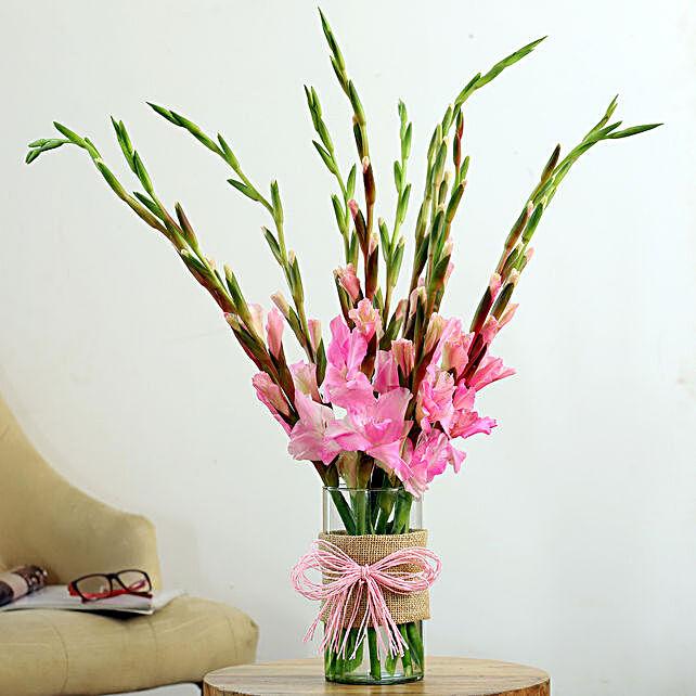 flower with vase online