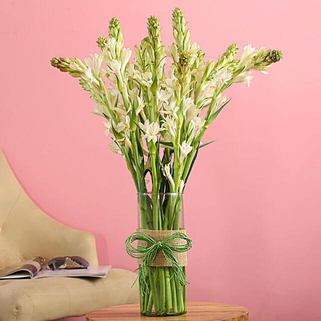 online roses in vase