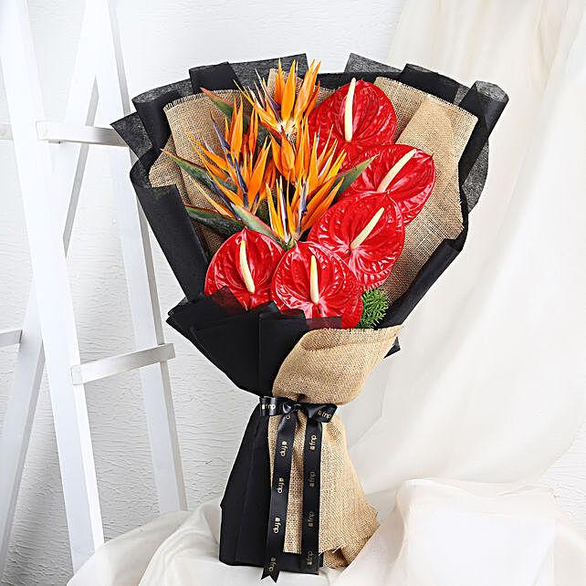 assorted flower bouquet online
