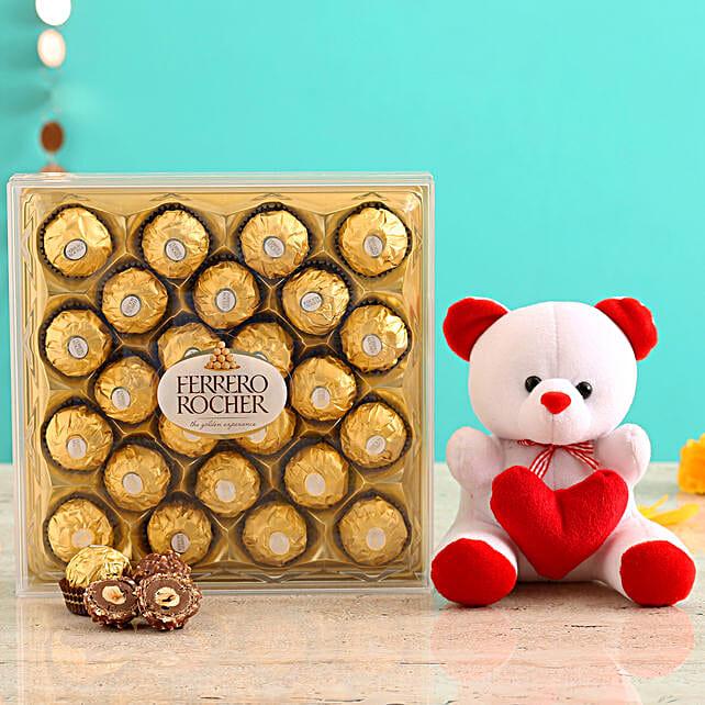 Send Cute Teddy