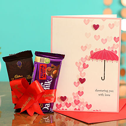 Valentine's Day Gift Combo for Husband:Fruit Chocolates