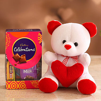 Cute Valentines Gift Combo for GF