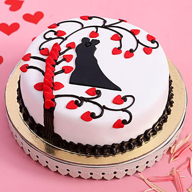 Online Truffle Paradise Designer Cake