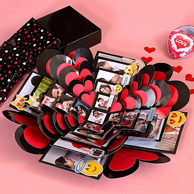 heart shape explosion box:Explosion Box