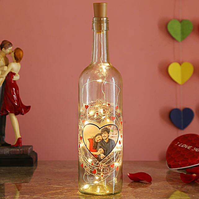 personalised bottle lamp online:Send Led Bottle Lamp