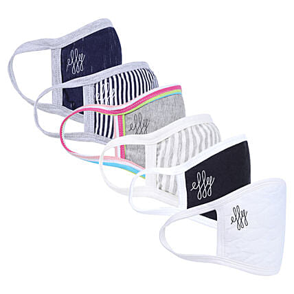 Online Assorted Masks With 2 Ply Protection