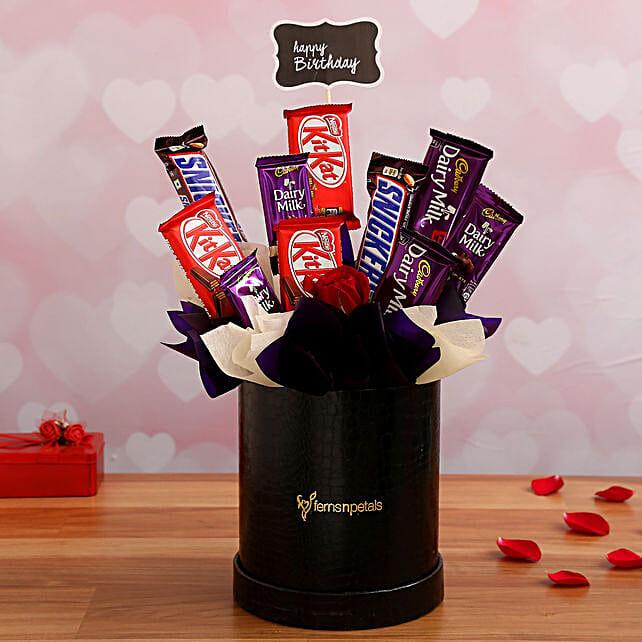 Romantic Chocolate Arrangement for Girlfriend