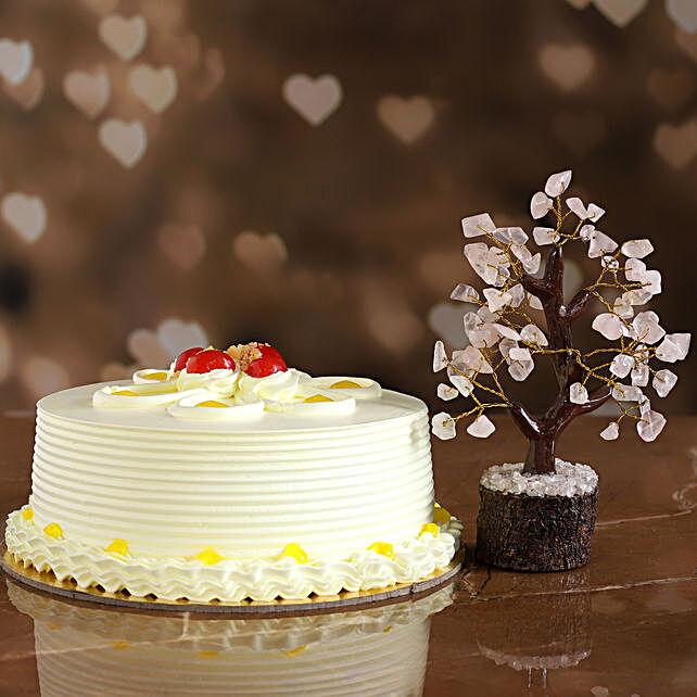 Crumble Butterscotch Cake Wish Tree