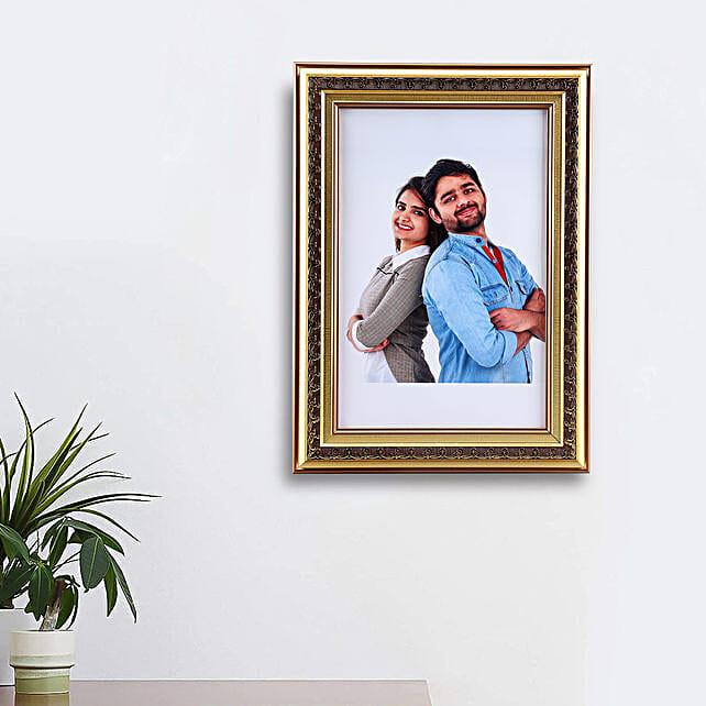 golden photo frame online