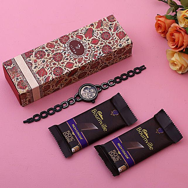 Elegant Black Watch Cadbury Bournville:Ilina Gift Sets