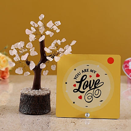 online wish tree with table top for vday