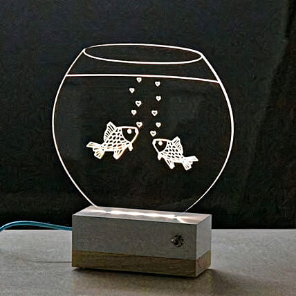 Cute Fishes Lamp Online