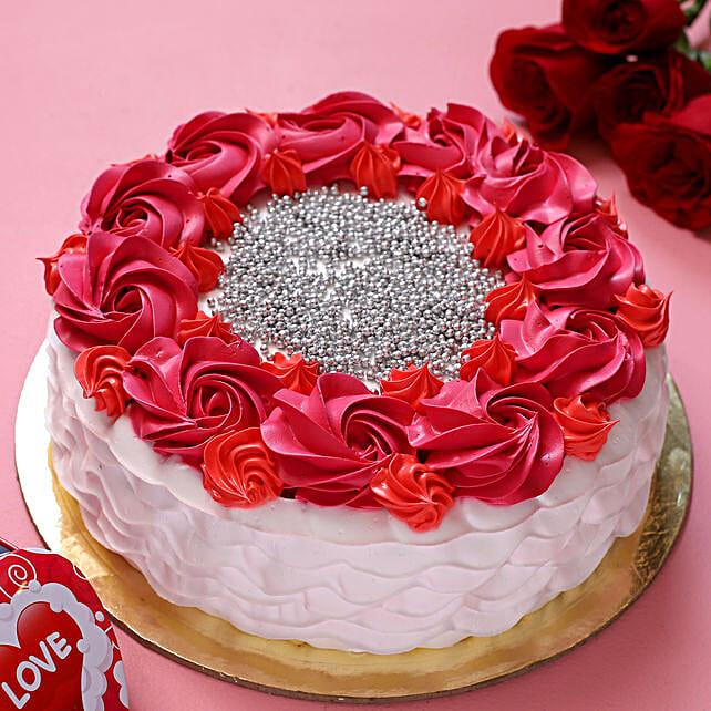 Beautiful Love Chocolate Cake