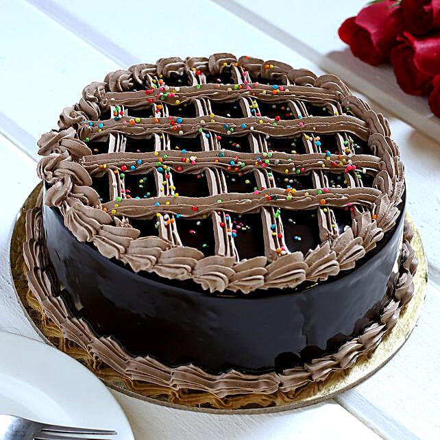 Rich Fantasy Chocolate Cake