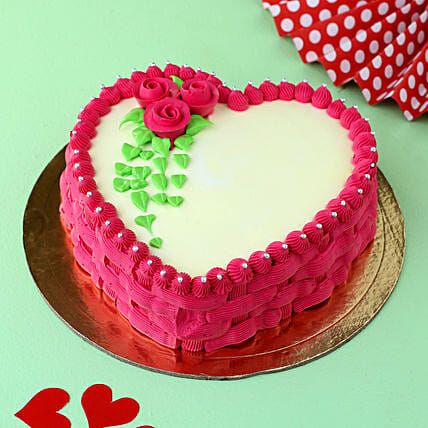 My Heart For You Chocolate Cake