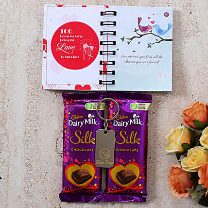 Special Kiss Day Silk Love Gift:Books