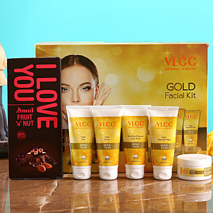 VLCC Gold Kit And Amul Fruit N Nut:Shop By Brands