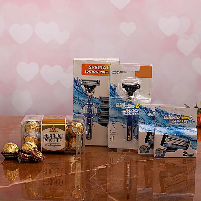 My Valentine Gillette Hamper