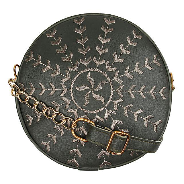 silver sling bag online:Sling Bags