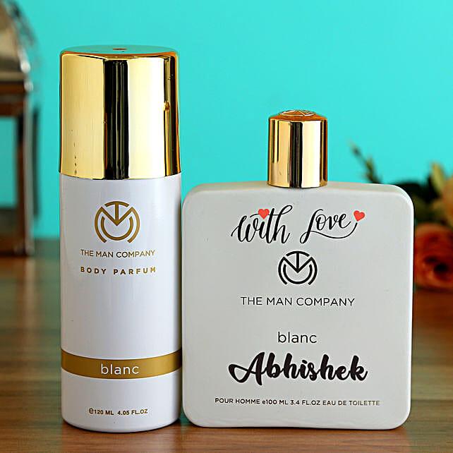 The Man Company Personalised Perfume N EDT Set:Personalised Perfumes