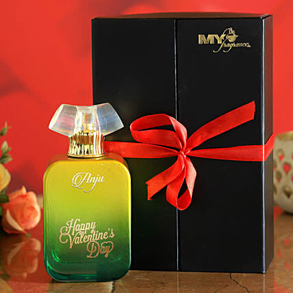 V Day Personalised Night Of Queen Perfume