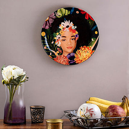 Kolorobia Blooming Beauty Home Decor Wall plate