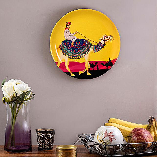 Kolorobia Princely Camel Home Decor Wall plate