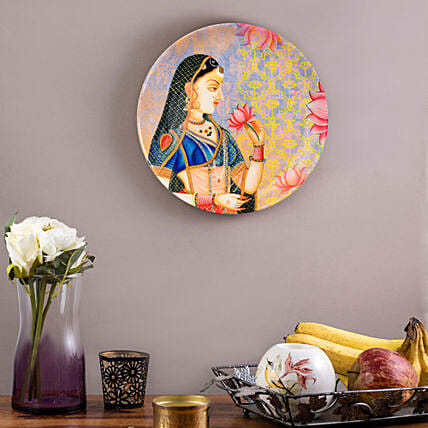 Kolorobia Queen Home Decor Wall plate