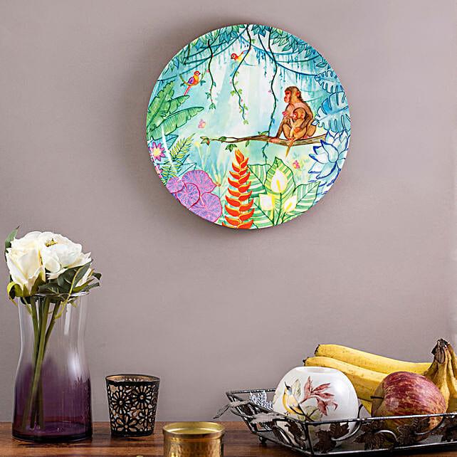 Kolorobia Tropical Jungle Home Decor Wall plate