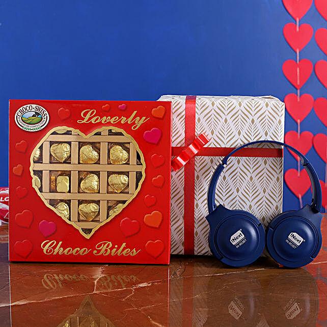 I Next Wireless Speaker Headphone And Choco Swiss