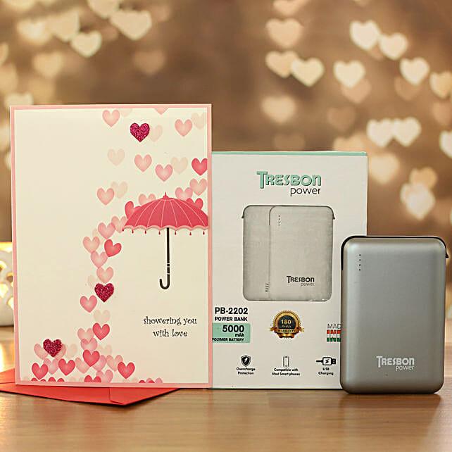 Love Card And I Next Tresbon Power Bank
