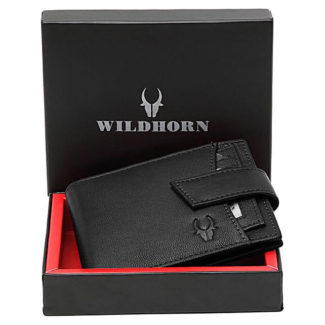 Wildhorn Black Leather Wallet