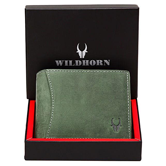 Wildhorn Classy Leather Wallet Green