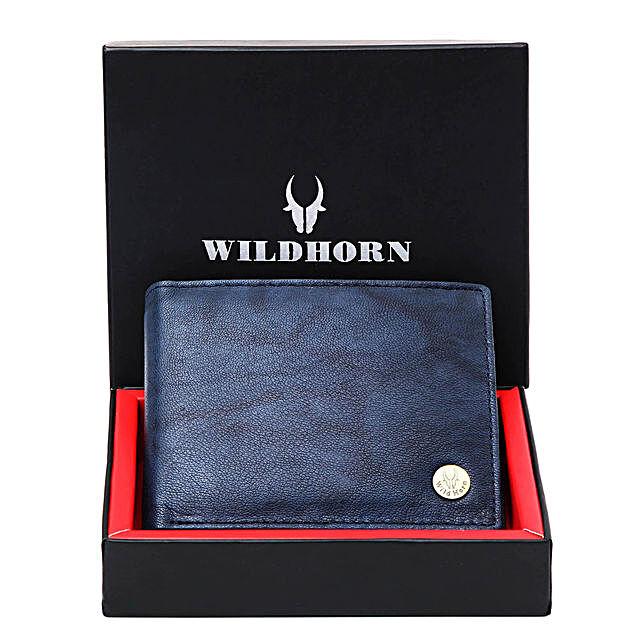 Wildhorn Premium Wallet Blue
