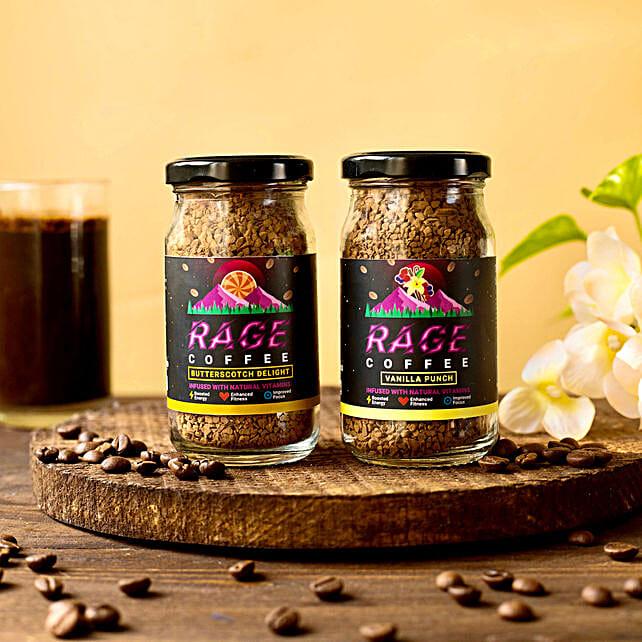 Rage Gluten Free Flavoured Coffee Combo