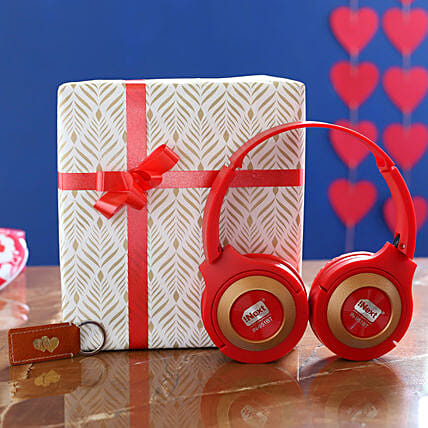 I Next Headphone Speaker And Leather Keychain:Electronic Gifts