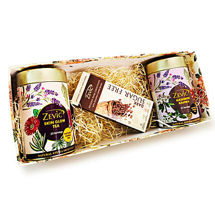 Zevic Herbal Teas And Roasted Coffee Beans Chocolate