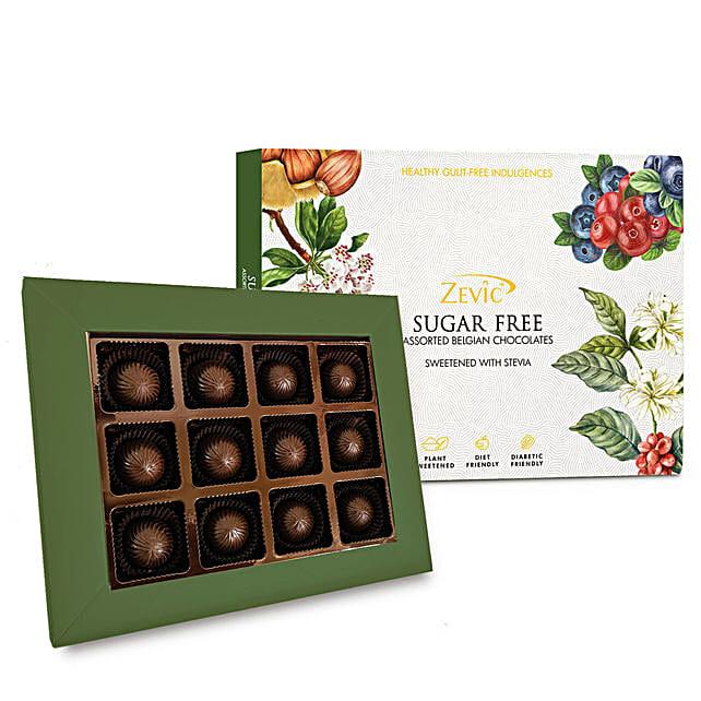 Zevic Assorted Sugar Free Almond Chocolates Pack:Sugar Free Chocolates