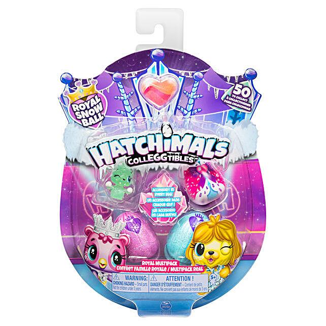 Hatchimals Colleggtibles S6 4 PK + Bonus