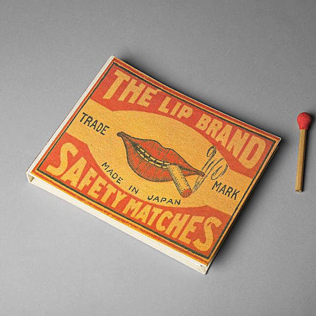 Safety Matches Scrapbook