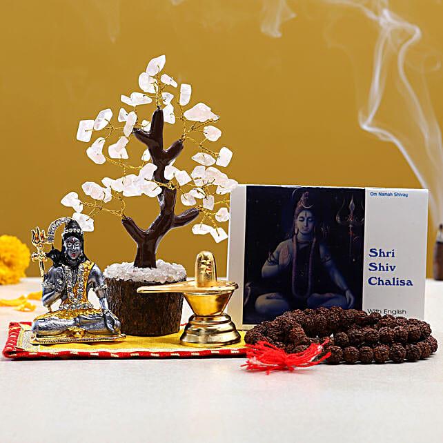 Maha Shivaratri Special Puja Items Wish Tree:Send Pooja Thali