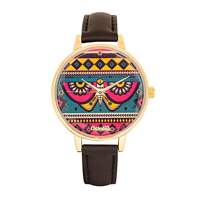 Aztec Butterfly Wrist Watch